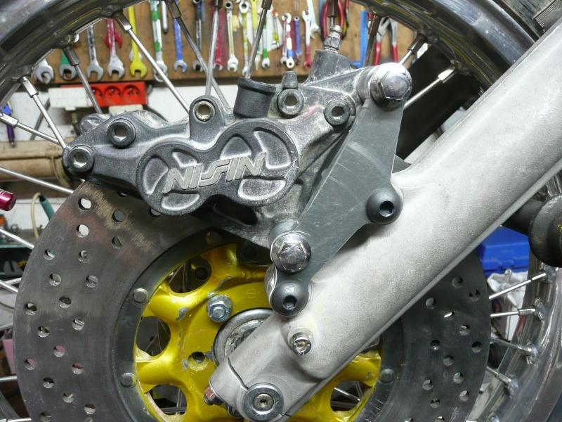 Platines de frein sur mesure 6p113010