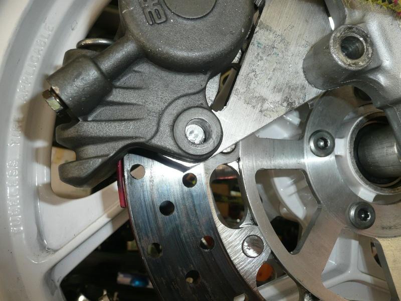 Platines de frein sur mesure 8p116010