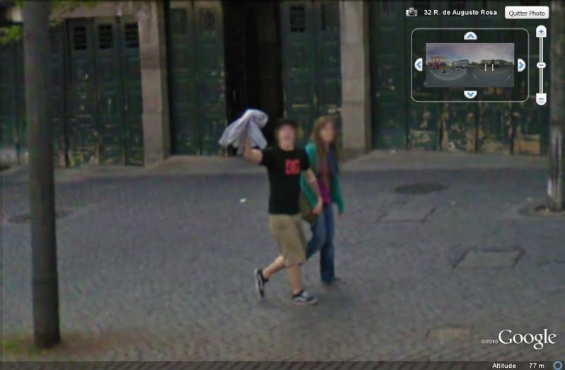 STREET VIEW : un coucou à la Google car  - Page 7 Coucou14