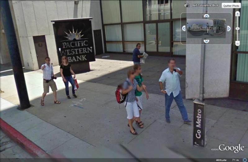 STREET VIEW : un coucou à la Google car  - Page 7 Coucou19