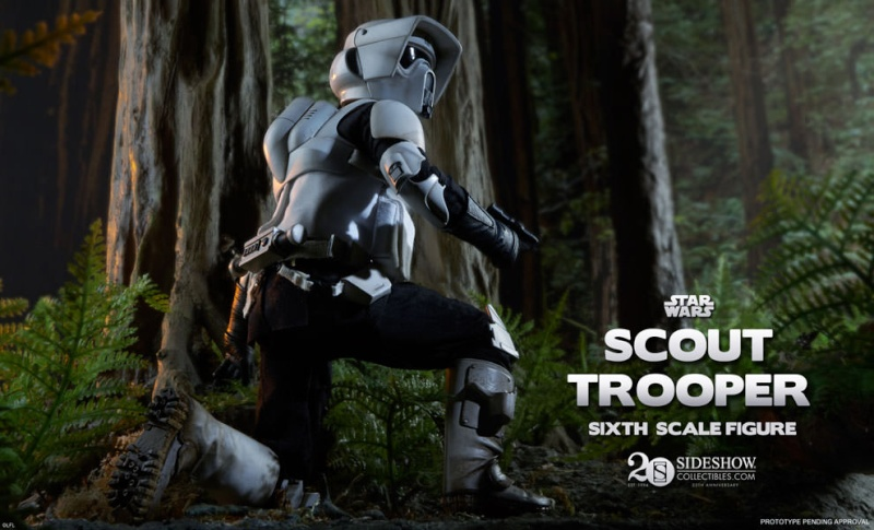 Scout Trooper Sixth Scale Figure Previe10