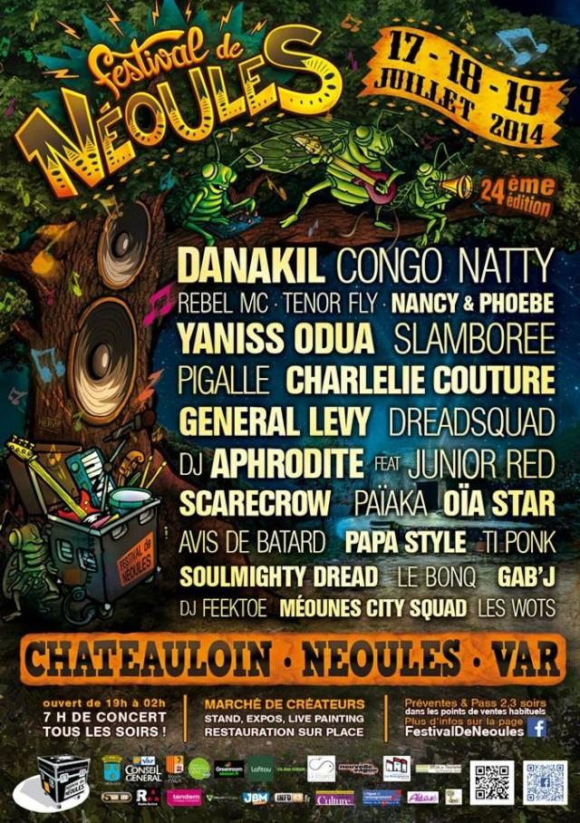 Festival de Néoules #24 ! Affich10