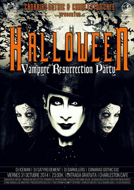 HALLOWEEN 2014 - Vampyre Resurrection Party | Gothic & ElectroDark Party Hallo110