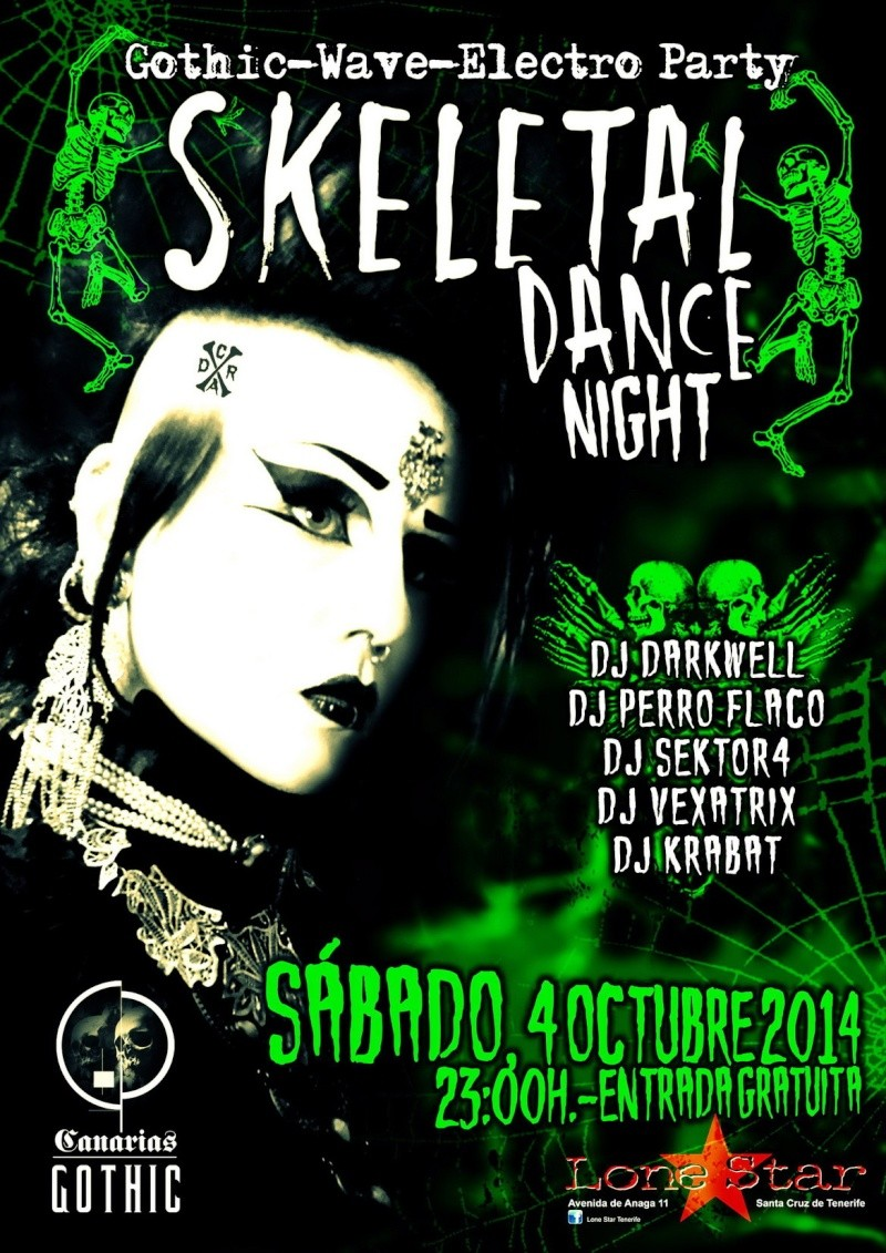 - SKELETAL DANCE NIGHT - (Gothic-Wave-Electro Party)  Skelet10