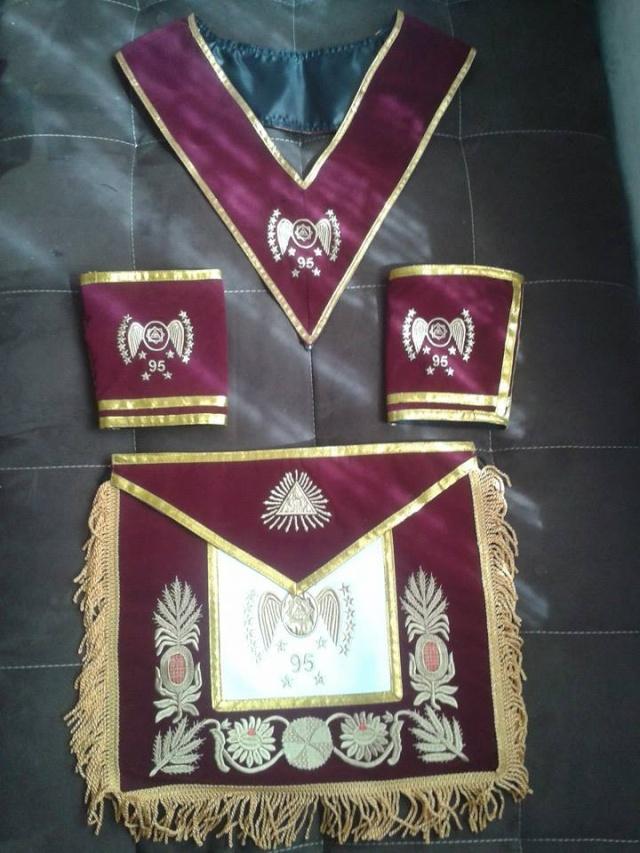 Grado 95º Príncipe de Memphis o Gran Administrador   14613110