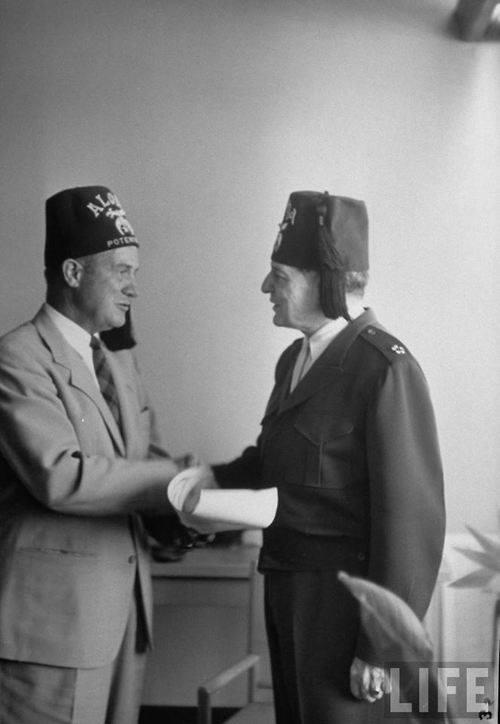 5 Star General Bro. Douglas Macarthur receiving his Fez 5_star10