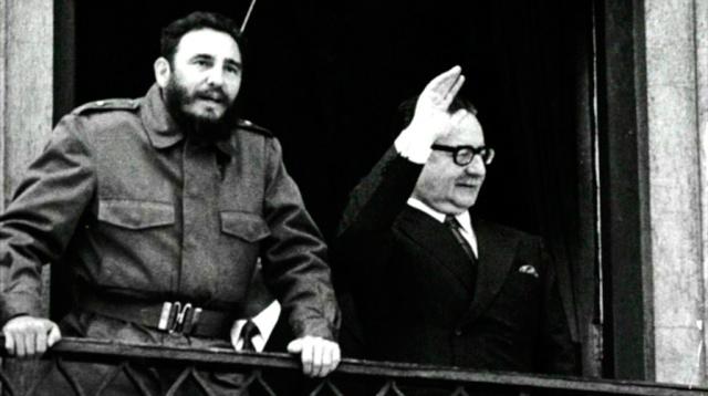 """""""Salvador Allende no se suicidó""""  ***  por Eduardo Mackenzie Fidel-10"""