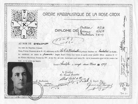 Orden Kabalística de la RosaCruz Okrc11