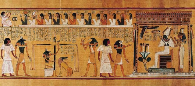 SOBRE EL LIBRO EGIPCIO DE LOS MUERTOS  ***   Por el Dr.Krumm Heller Rosacr10