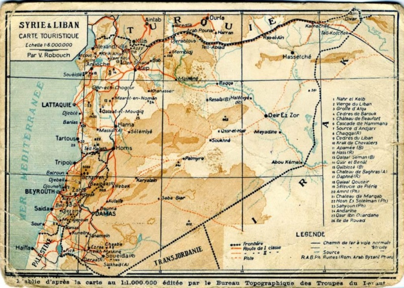 Prévôté du Détachement français de Palestine Carte_10