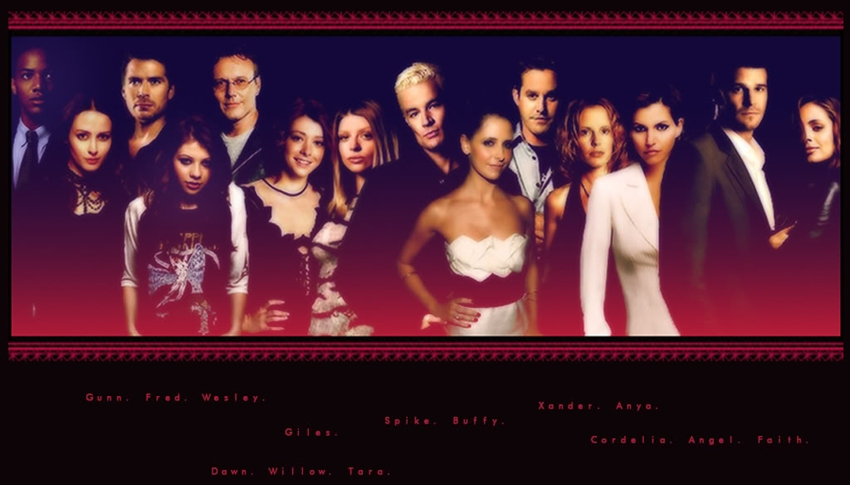 Buffy the Vampire Slayer & Angel the series.