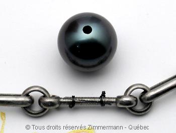 Collier perles de tahiti et or monté sur cable...qui casse...et recasse. Help! Montag11