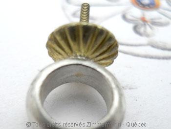 Perle Tahiti de 10,37 mm sur argent et or Peaota13