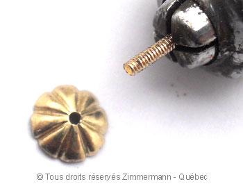 Pendilles avec perles des mers du sud de 12,10 mm Peno6113