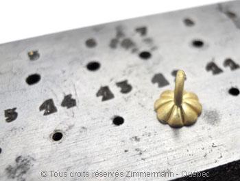 Pendilles avec perles des mers du sud de 12,10 mm Peno6115