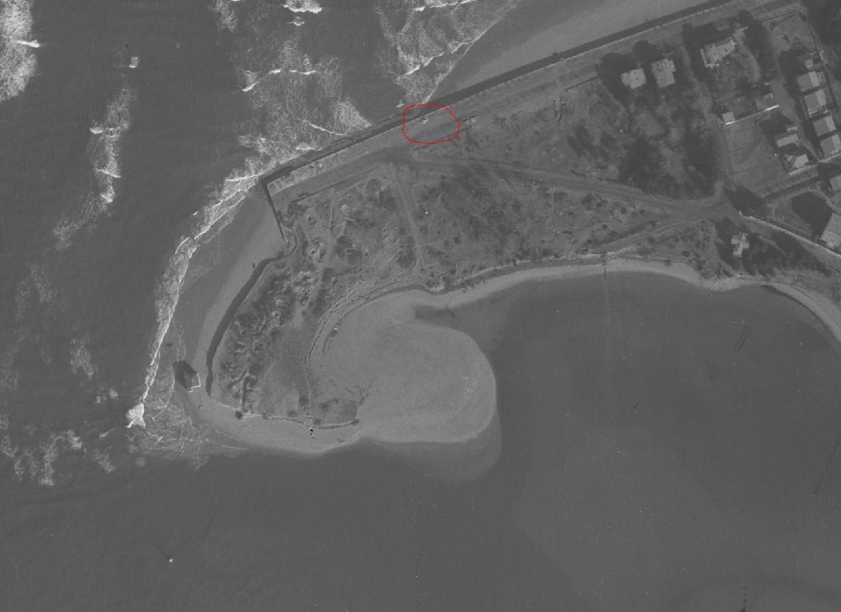 Le bunker qui protégeait le  bassin de Bidasoa-Txingudi  à Hendaye 115