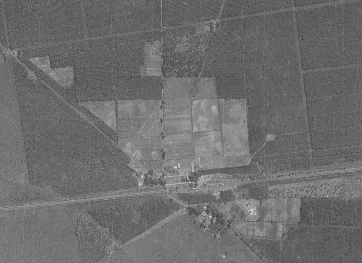 Camp de prisoniers allemands de Caudos/Mios 194511