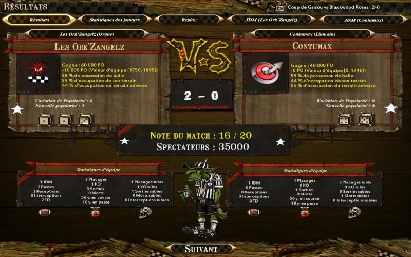 Les Ork'ZangelZ 2-0 CONTUMAX Bloodb35
