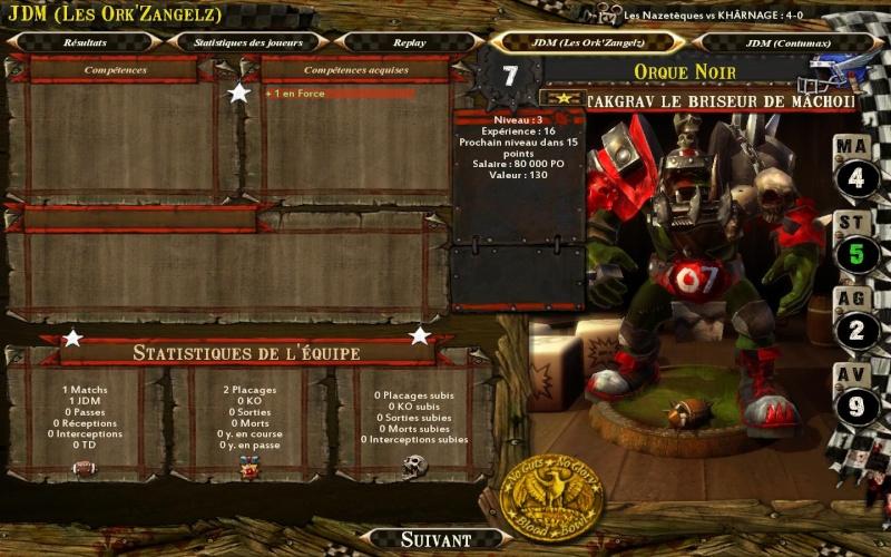 Les Ork'ZangelZ 2-0 CONTUMAX Bloodb39
