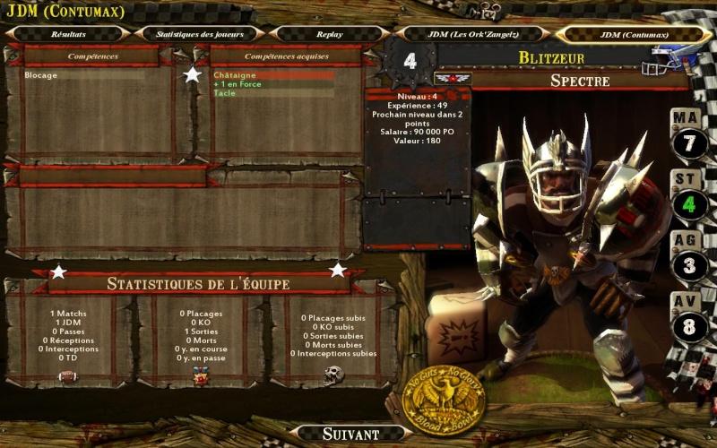 Les Ork'ZangelZ 2-0 CONTUMAX Bloodb40