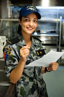 sea patrol : les playmettes et playboy's du mois de septembre (serie militaire d'australie) 11657011