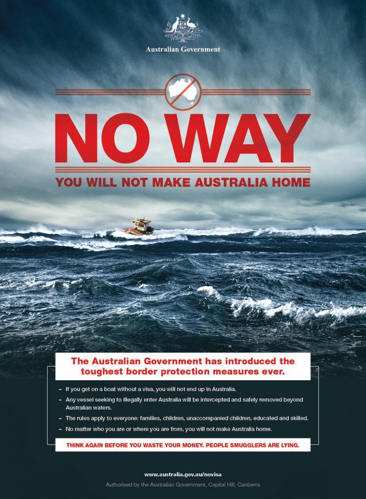 Aucun bateau de clandestins n'a atteint l'Australie depuis 6 mois 6mks10