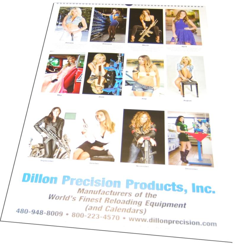 dillonprecision un site us d'armes , mais surtout connu pour son calandrier et ces catalogues sexy Dillon10