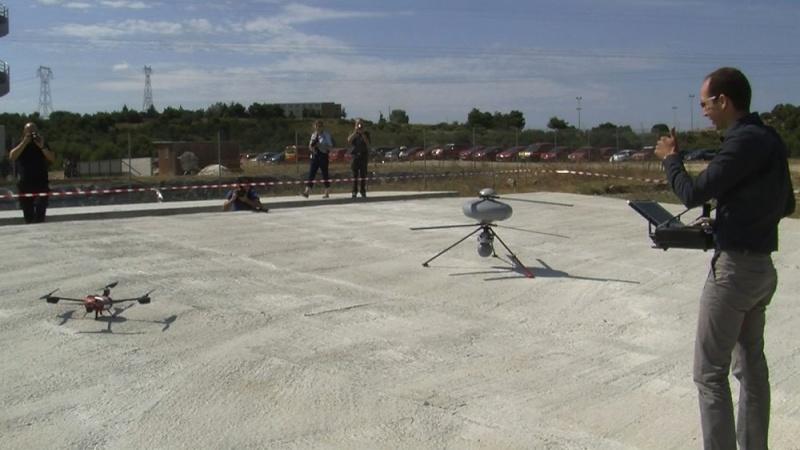 Les massifs sous la surveillance des drones Drones10