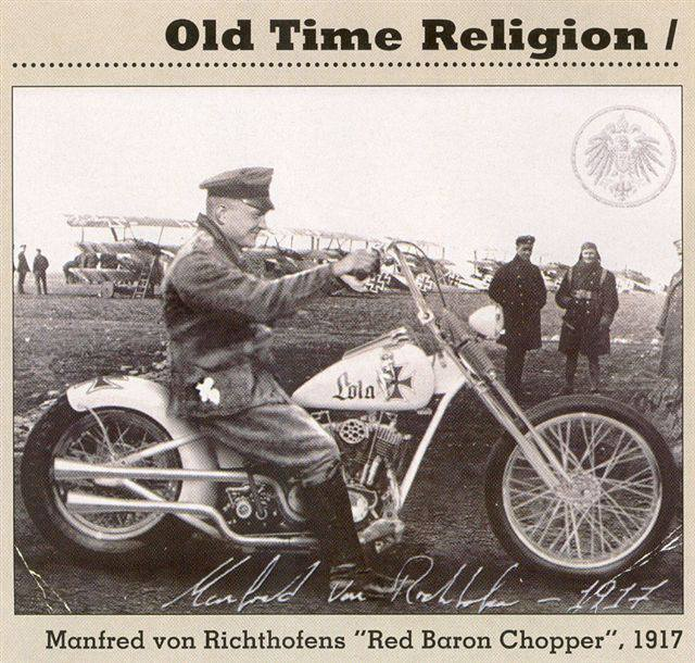 Red Baron's WWI Chopper. 10685410