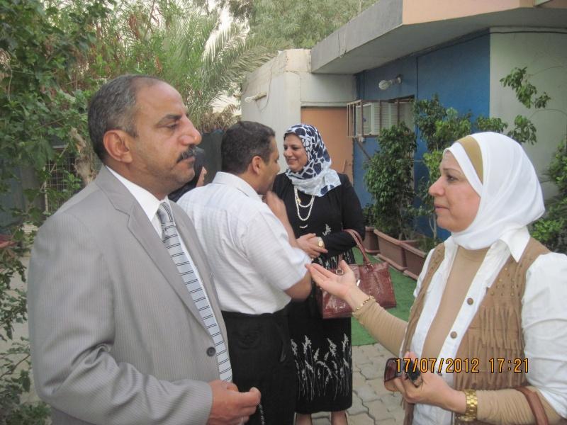 زيارة المدير الاقليمي لمنظمة OIEللعراق Img_2113