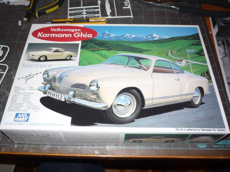 Karmann Ghia Vert Pampa Box11