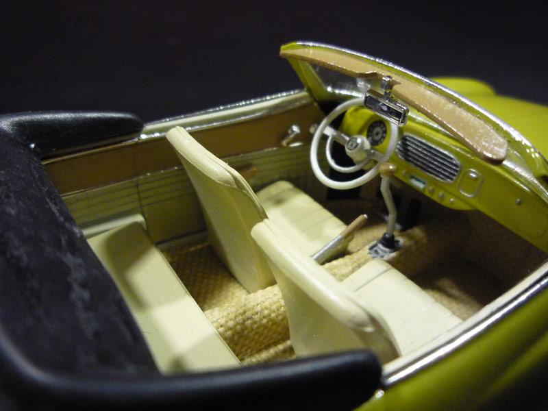 Karmann Ghia Vert Pampa  Ghia312