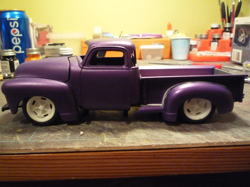 Chevy 1950 pickup Hauteu10