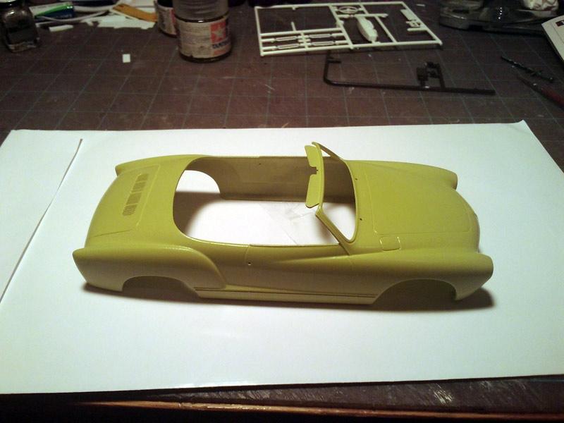 Karmann Ghia Vert Pampa Paint110