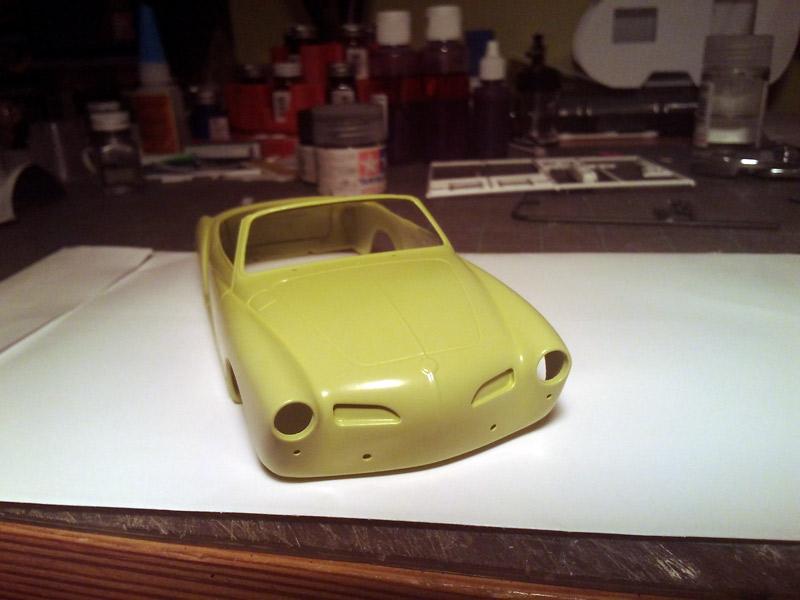 Karmann Ghia Vert Pampa Paint210