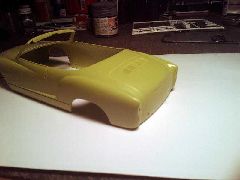 Karmann Ghia Vert Pampa Paint410