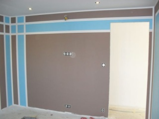 Chambre bleue et grise ou chocolat pour garçon 5 ans Bleu10