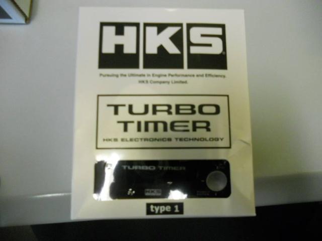 turbo timer hks type 1  161euros et 115 pour le  type 0 19610310