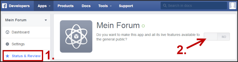 [Tutorial] Verbindung des Forums mit Facebook Tuto_f23