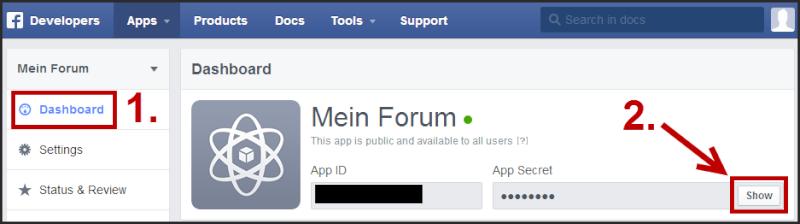 [Tutorial] Verbindung des Forums mit Facebook Tuto_f25