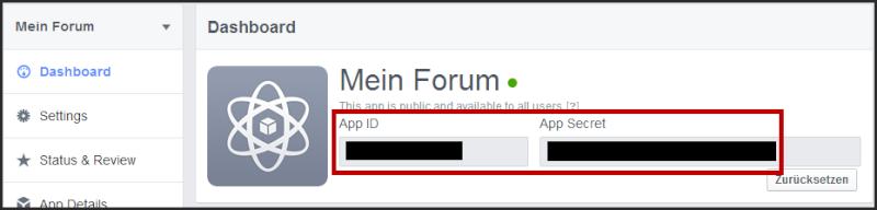 [Tutorial] Verbindung des Forums mit Facebook Tuto_f26