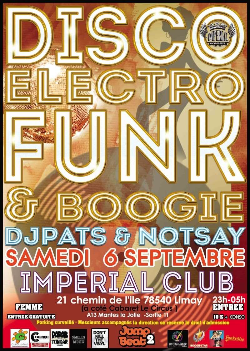 6 Septembre 2014  Jump to the Beat Disco Funk Party - Limay 78 6_sept10