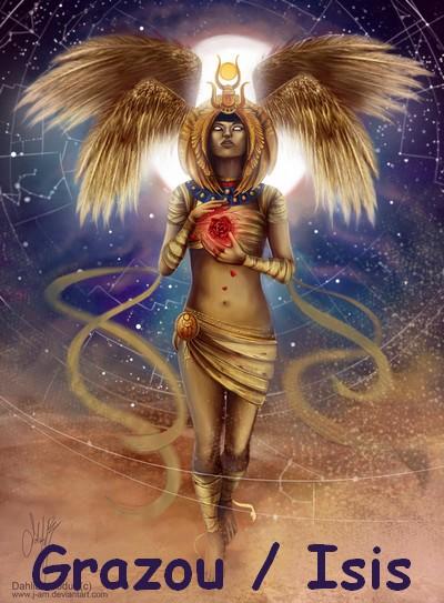 Avatars Dieux Égyptiens Isis_b10