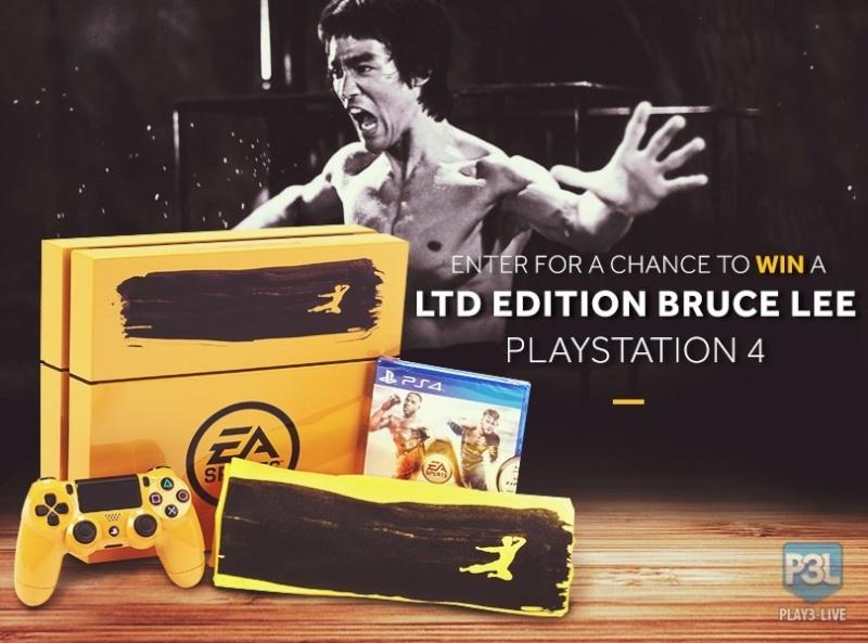 une PS4 Bruce Lee Bruce10