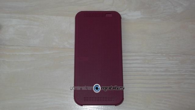 [HOUSSE] Dot view - HTC One M8 - présentation perso Ceve111