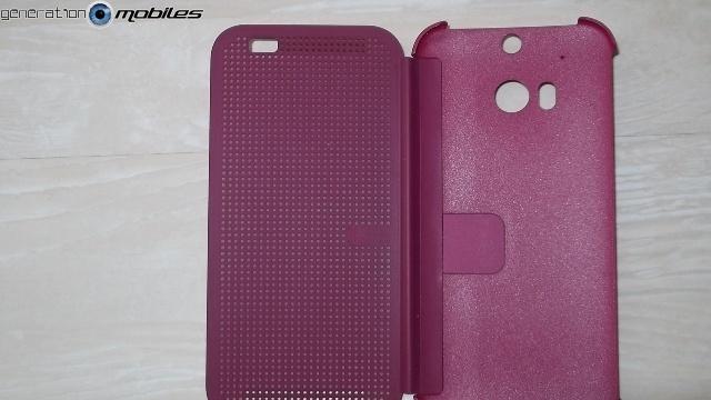 [HOUSSE] Dot view - HTC One M8 - présentation perso Ouvert10