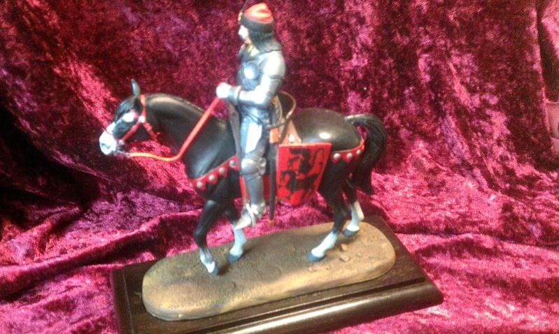 Dracula zu Pferd in 120mm von Verlinden Imag0419