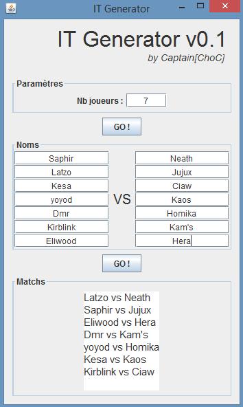 [IT WiiU N°1] S'n-F vs UF  VICTOIRE 7-0 Tirage10