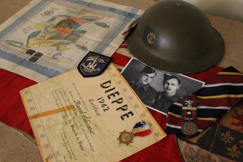 Petit mémorial pour les vétérans du Raid sur Dieppe Mamori10