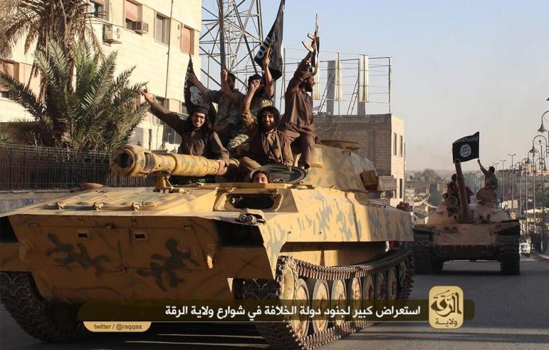 Materiels et equipements captures par l Etat Islamique -isis-10